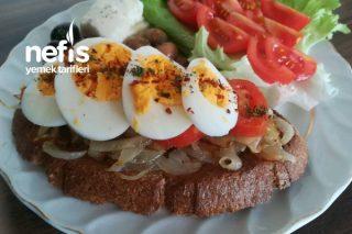 Hem Pratik Hem Diyet Alternatif Kahvaltılık Tarifi