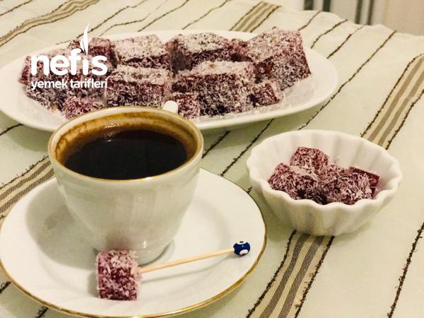 Kahve Yanı Minik Jöle Lokumlar