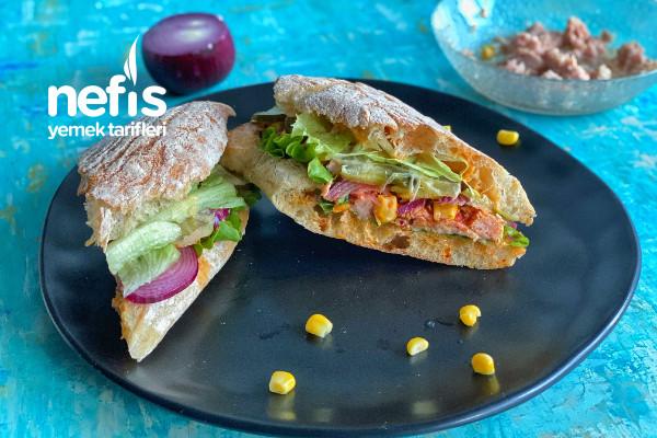 Ton Balıklı Sandviç Tarifi