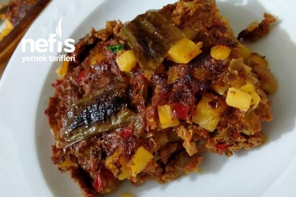 Arap Tavası Doğra Karıştır Pişir