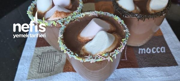 Ev Yapımı Sıcak Çikolata 3 Dakikada Sadece 3 Malzeme Yeter [ Videolu ]
