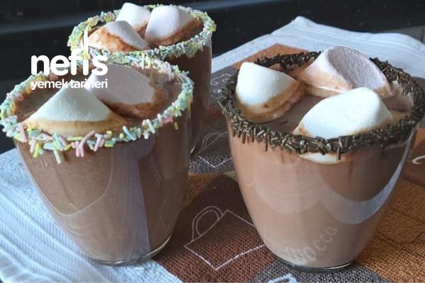 Ev Yapımı Sıcak Çikolata 3 Dakikada Sadece 3 Malzeme Yeter (Videolu)