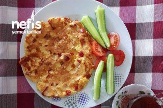 Mısır Unlu Omlet (Diyet Kahvaltı 200 Kalori) Tarifi