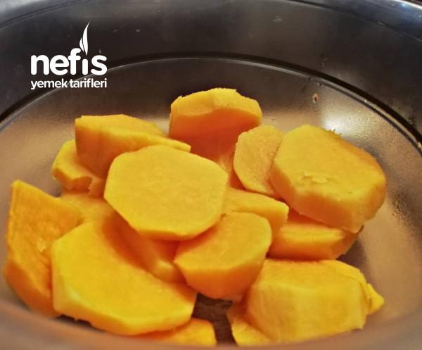 Tatlı Patatesli Browni (Unsuz / Glutensiz)