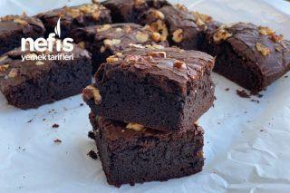 Cevizli Bol Çikolatalı Brownie Tarifi