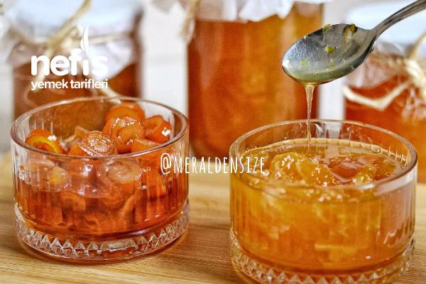 Portakal Ve Portakal Kabuğu Reçeli
