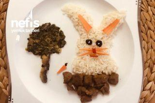 Akıllı Tavşan (Kavurma Ispanak Pilav) Tarifi
