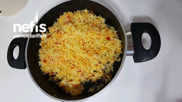 Vitamin Deposu Pirinc Pilavı (Tüm Püf Noktalariyla)