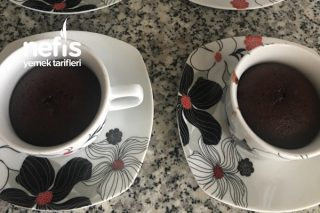 Yoğun Çikolatalı Suffle (Tencerede Ve Fincanda) Tarifi