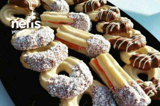 15 Dakikada Hazır Pastane Kurabiyesi Tarifi