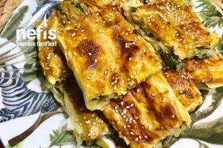Ispanaklı Börek (El Açması Tadında) Tarifi
