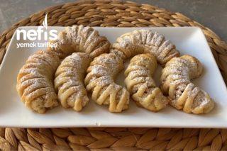 Margarinsiz (Sıvıyağlı) Elmalı Kurabiye Tarifi (Videolu)