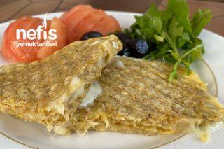 Sağlıklı Yulaflı Tost (Ekmeksiz) Tarifi
