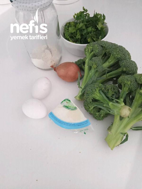 Brokoli Köftesi (Fırında)