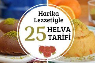 Helva Tarifleri: Tam Kıvamında 25 Lezzet Tarifi