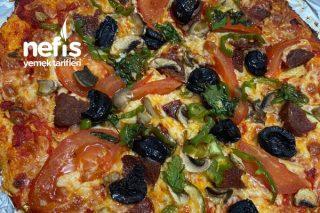 Karnabahar Tabanlı Pizza Tarifi