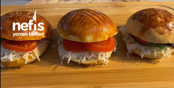Pamuk Gibi Sandiviç Pastane Poğaça Tarifi