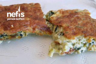Peynirli Ve Ispanaklı Sufle Tarifi