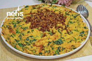 Yoğurtlu Ispanaklı Havuç Salatası Tarifi