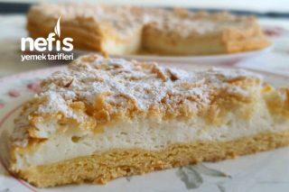 Az Malzemeli Çok Hafif Üzeri Kıtır Yoğurtlu Kek Tarifi (Videolu)