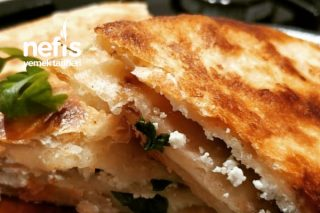 Tortilla Ekmeği Böreği Tarifi