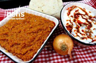 Simit Aşı Ve Yoğurtlu Kuru Patlıcan Salatası- Denenmeye Değer Garanti İki Tarif √ (Videolu) Tarifi