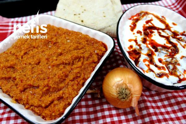 Simit Aşı Ve Yoğurtlu Kuru Patlıcan Salatası- Denenmeye Değer Garanti İki Tarif √ (Videolu)