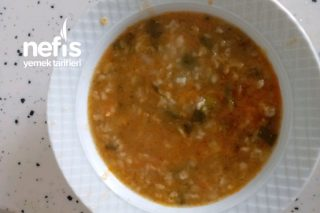 +1 Yaş Bol Vitaminli Sebze Çorbası Tarifi