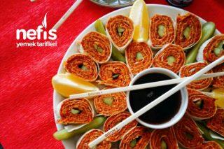 Çiğköfte Sushi Tarifi