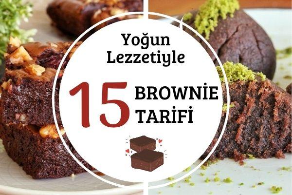 Evde Brownie Yapımı: 15 Orijinal Tarif Tarifi