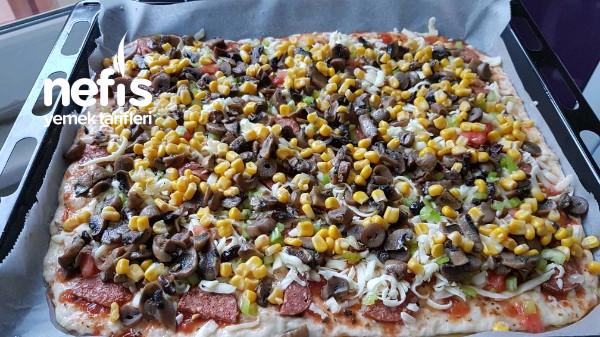 Evde Harika Pizza