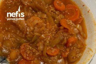 Portakal Suyuyla Kinoalı Diyet Pırasa Yemeği Tarifi