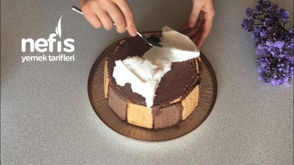 Fırınsız Kalıpsız Doğum Günü Pastası