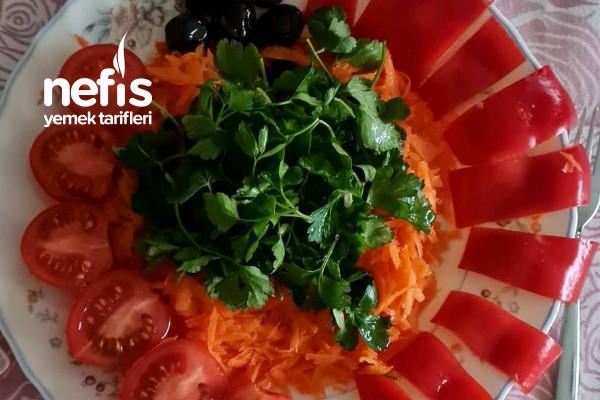 Kahvaltı Salatası (Sağlıklı Beslenme Ve Diyette Olanlar İçin İdeal)