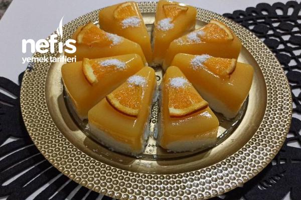 Portakal ve Muhallebi nin Muhteşem Uyumu