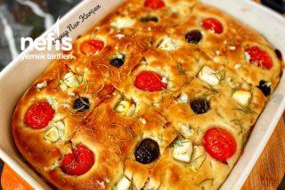 Sarımsaklı Ekmek (Foccacia) Tarifi
