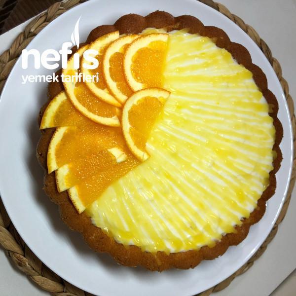 Muhallebili, Portakallı Kek