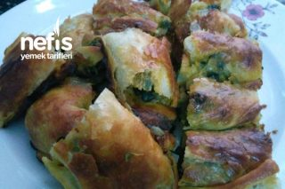 Oklavasız İncecik Açılan Çıtır Çıtır Ispanaklı Börek Tarifi