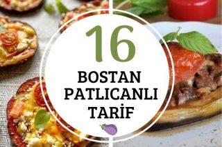 Bostan Patlıcanı ile 16 Değişik Tarif Tarifi