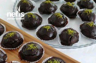 Çikolata Soslu Browni Kurabiye (Videolu Tarif) Tarifi
