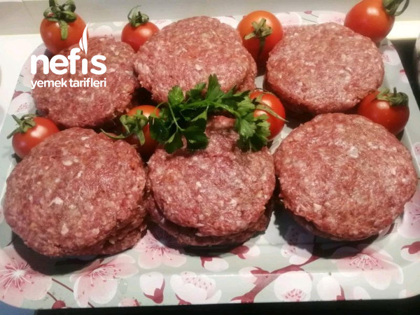 Hamburger Köfte Yapılışı