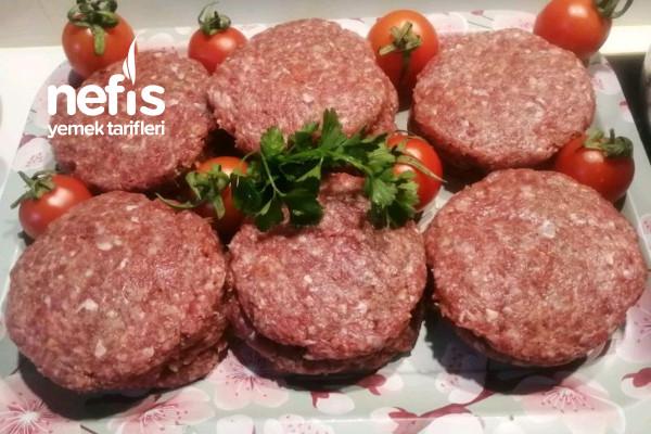 Hamburger Köfte Yapılışı (Derin Dondurucu İçin)