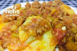 Patates Oturtma (Ana Yemek ) Tarifi