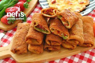 Pizza Tadında Krep Börek (Favoriniz Olacağına Emin Olduğum Lezzet) Tarifi