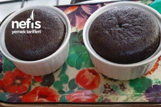 Tencerede 6 Dakikada  Pişen Çikolatalı  Sufle (Videolu) Tarifi