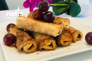 Tost Ekmekle Şipşak Tatlı Rulolar (Çıtır Çıtır) Tarifi