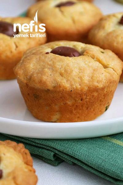 Yumuşacık Tuzlu Muffin Poğaça