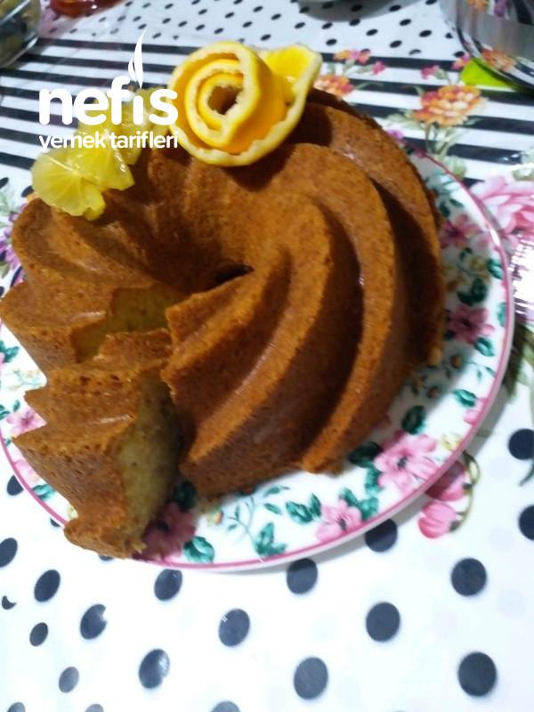 Limonlu Fındıklı Pamuk Kek