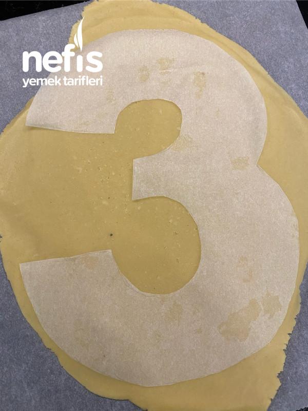 Number Cake Harfli Ve Rakamlı Pasta)