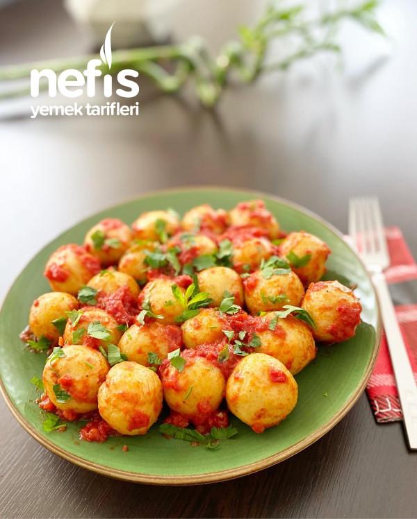 Patatesli Bulgur Köfte